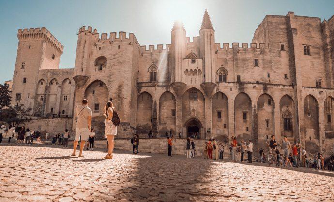 Panorama Palais des Papes Avignon ©PLANQUE Michel