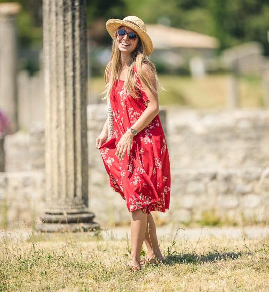 Visite des sites antiques de Vaison la Romaine