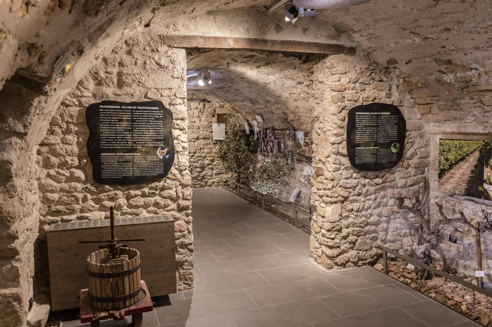 Truffelmuseum in Richerenches