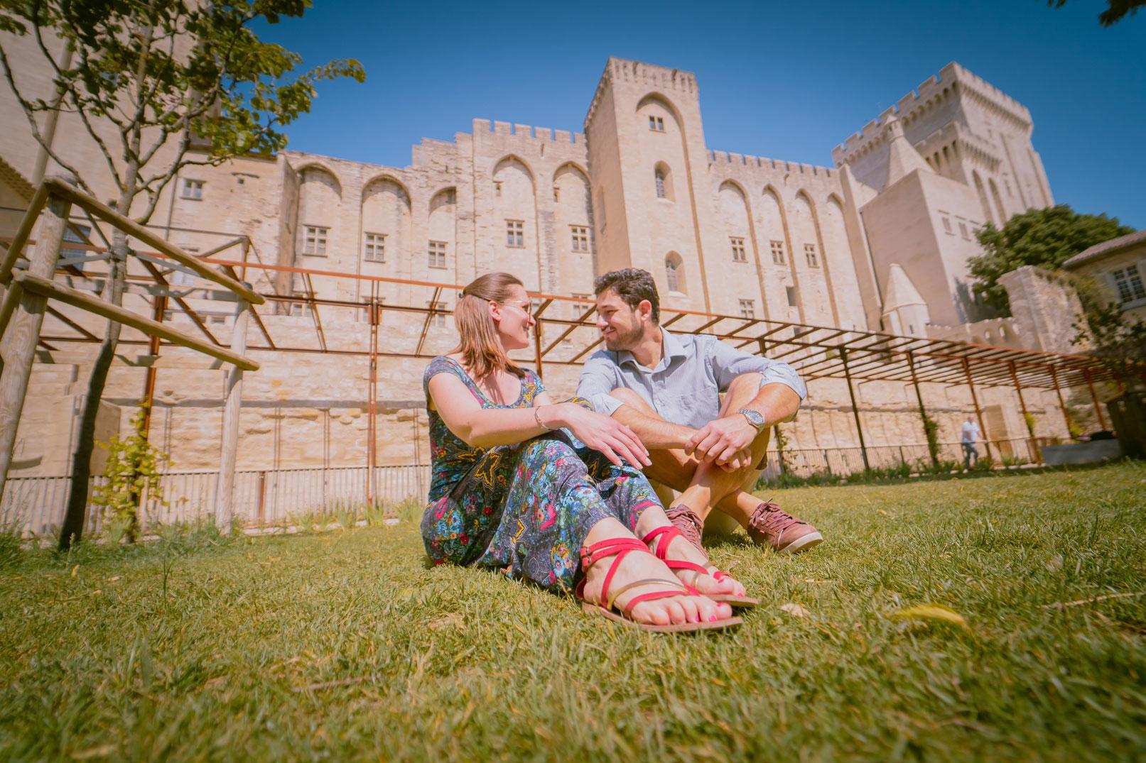 Avignon met uw geliefde