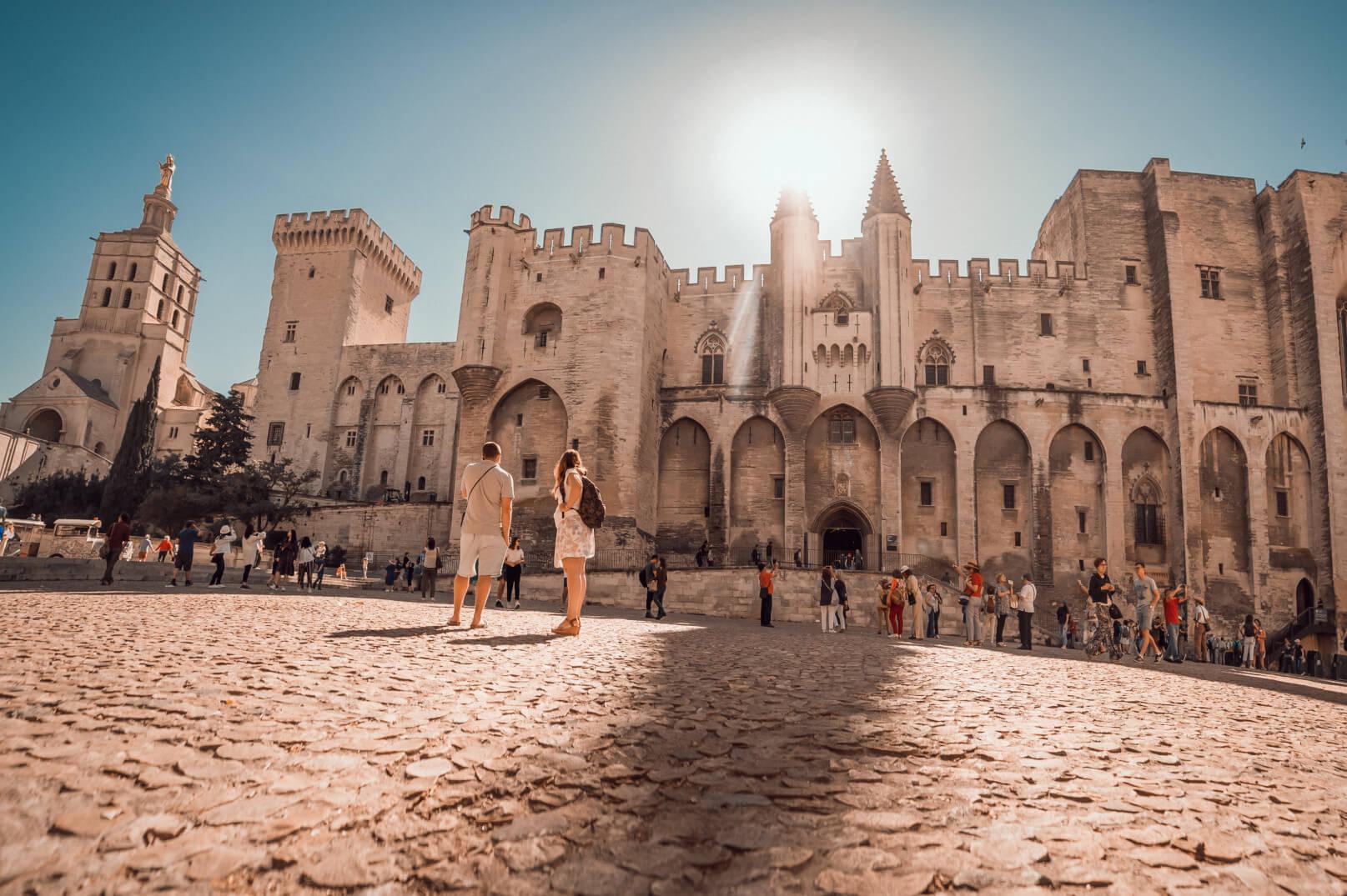 Avignon ten tijde van de pausen