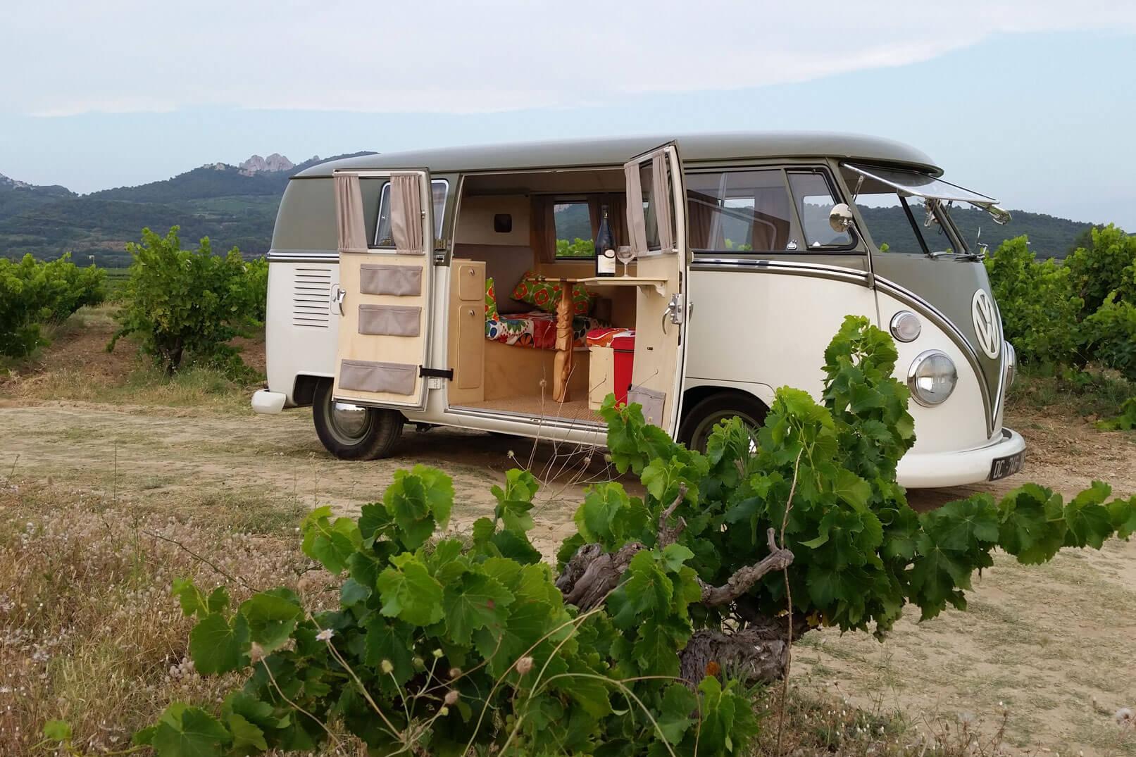 Domaine de la Tourade: een belevenis tussen de wijngaarden in een busje