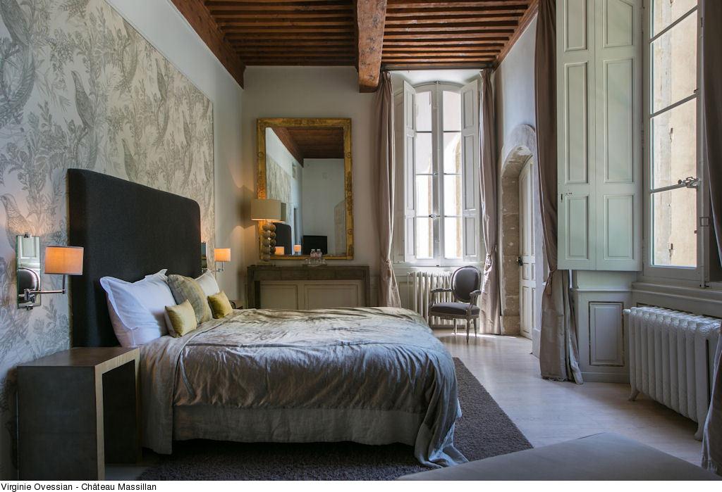 Chambre du Château de Massillan @ Ovessian V.