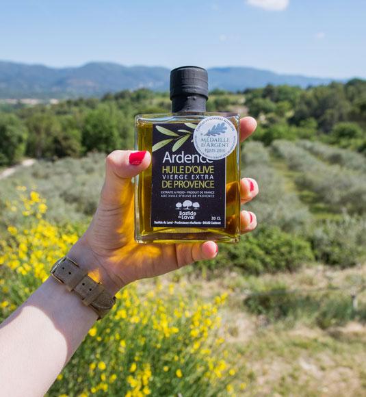 Huile d'olive du Vaucluse @ Coquard