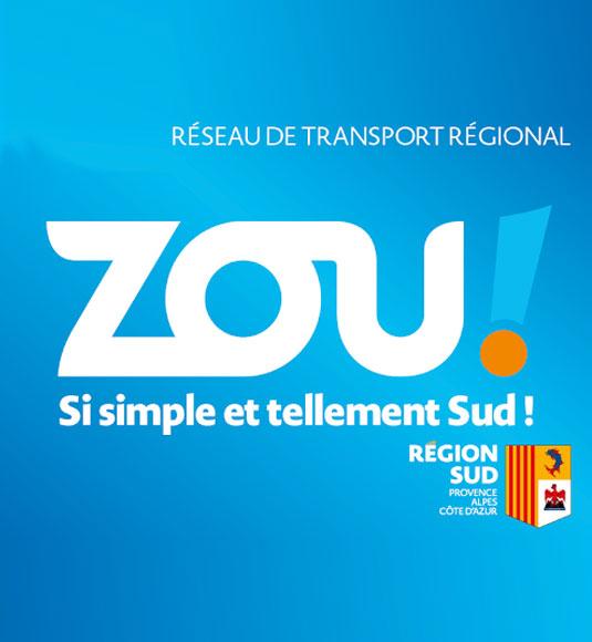 réseau de transport Zou