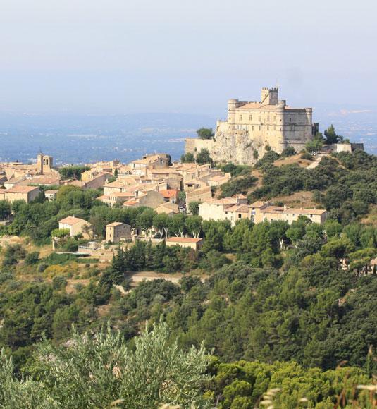 Het kasteel Le Barroux @ Hocquel