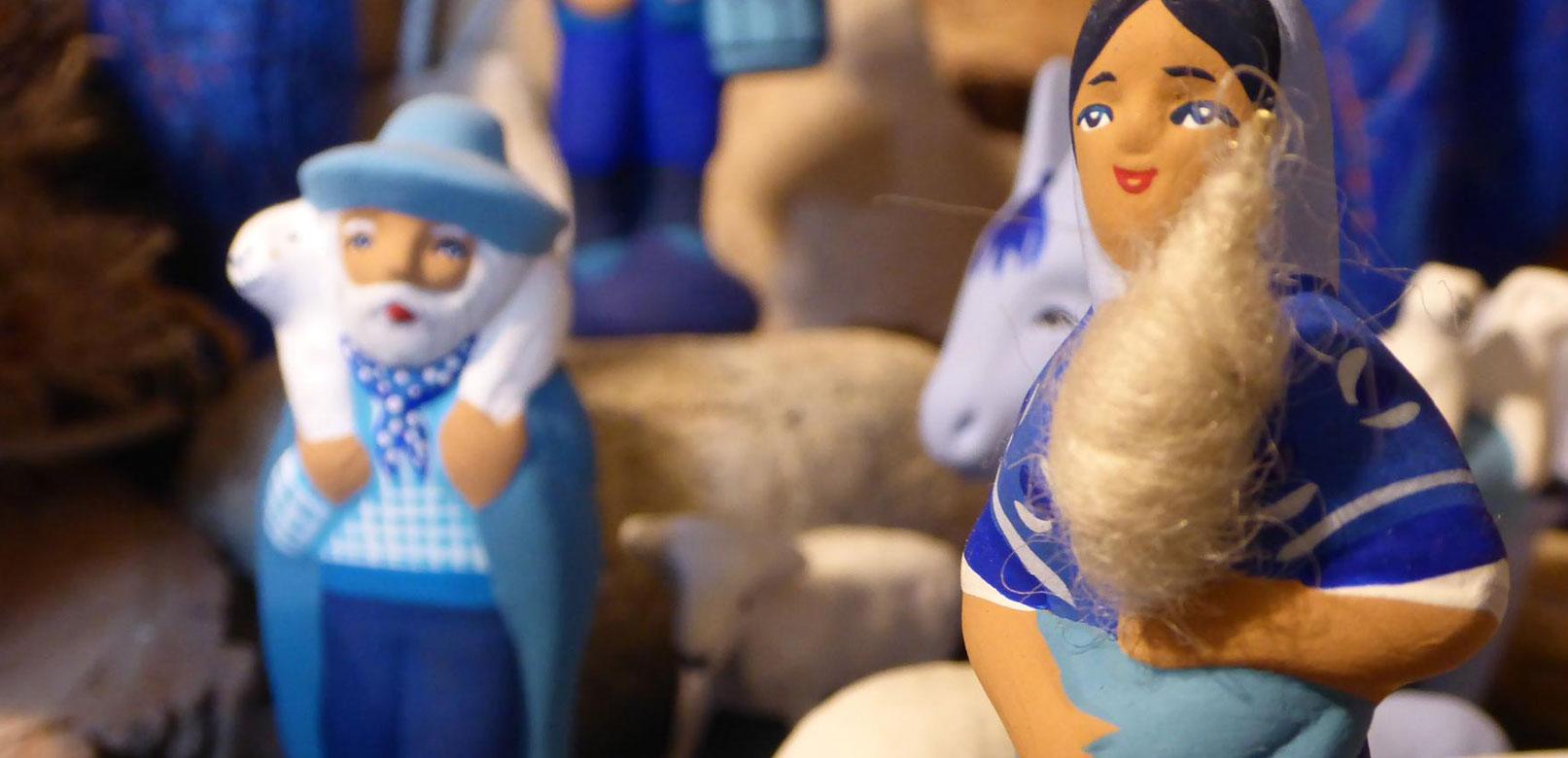 Blauwe santons © Santons bleus