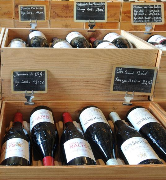 Een wijngeschenkenset