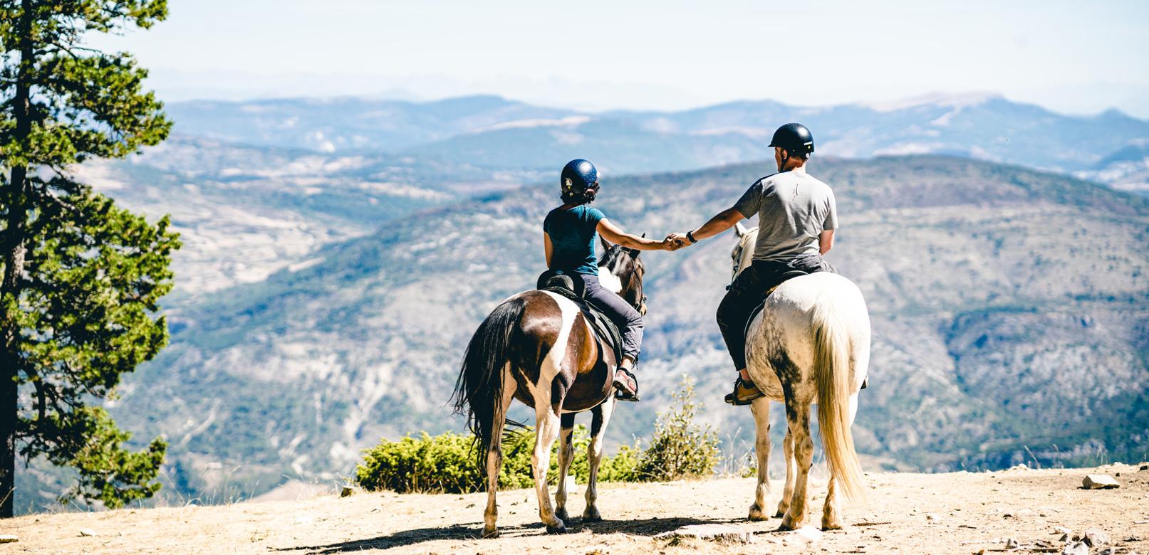Paardrijtochten – Ventoux © O'Brien