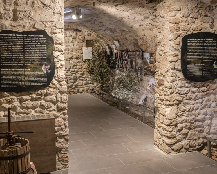 Truffelmuseum in Richerenches © Kessler