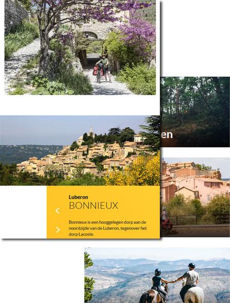 Provence toerisme website