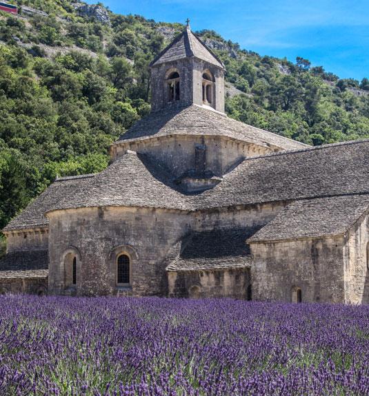 De abdij van Sénanque