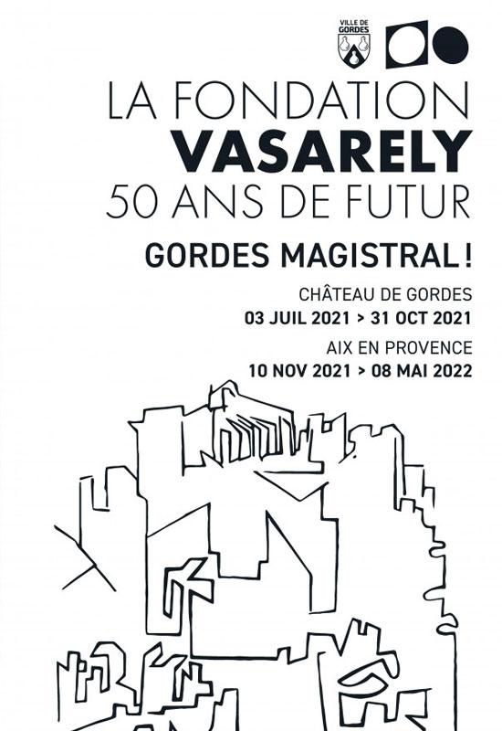 De verspreide werken van Vasarely