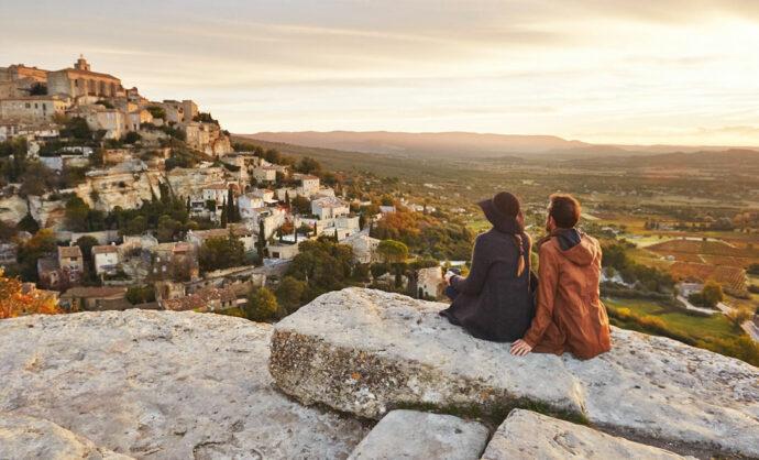 De dorpen van de Provence